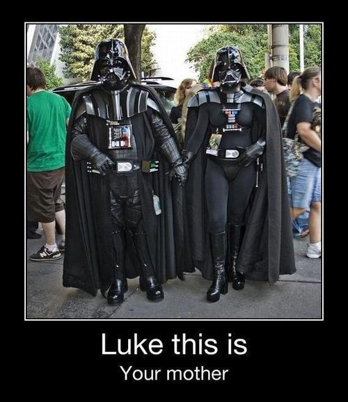 When Did Vader Get Married?