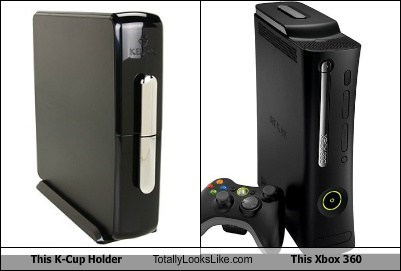 k-cups,totally looks like,xbox,funny
