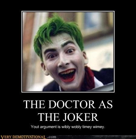 joker,doctor who,villain
