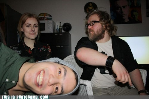 Photobomb Level: Perpendicular