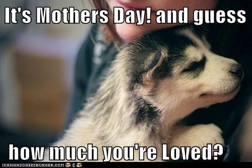 It's Mothers Day! and guess    how much you're Loved?