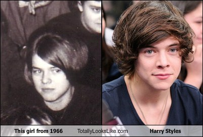 harry styles,totally looks like,girls,funny