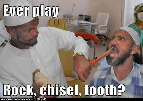 Ever play  Rock, chisel, tooth?