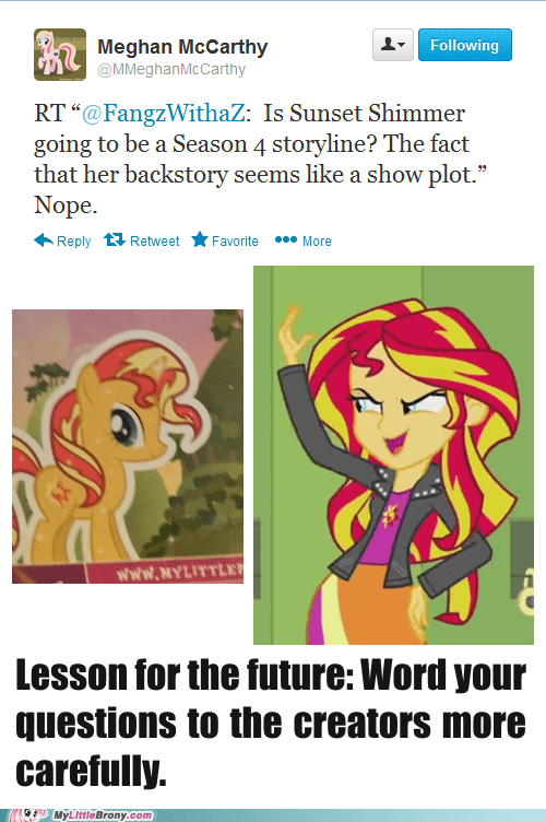 There's Sunset Shimmer