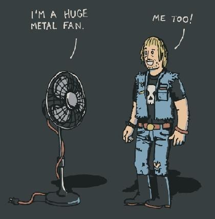 Metal Fans Like Puns Too