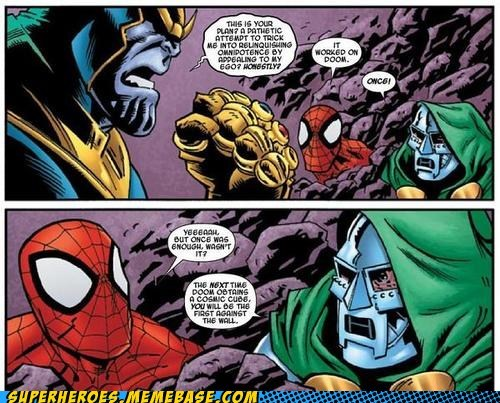 Spider-Man,off the page,dr doom