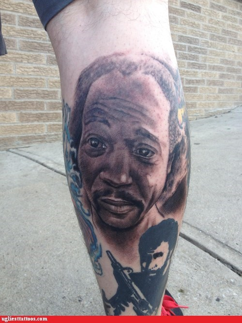 charles ramsey,tattoos,funny,win,heros,g rated,Ugliest Tattoos