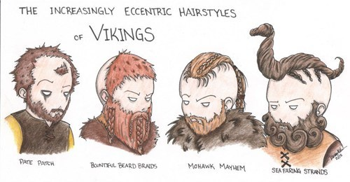 I Can't Go Out Pillaging Until I Get My Hair Right!