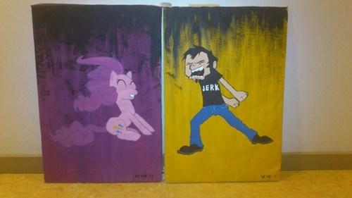 my little pony,fan art,pinkie pie,dan vs