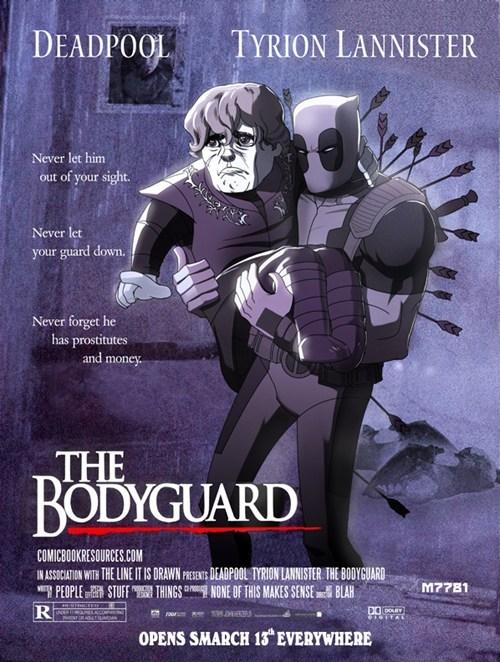 Deadpool, Tyrion Lannister: The Bodyguard