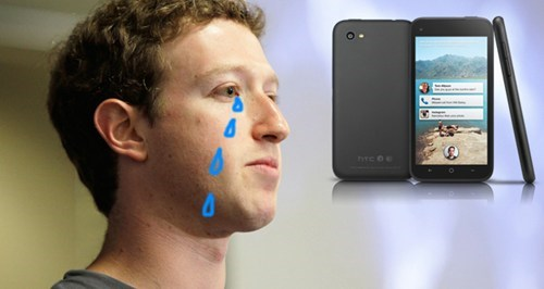HTC First a.k.a. the 'Facebook Phone' Discontinued After Just One Month