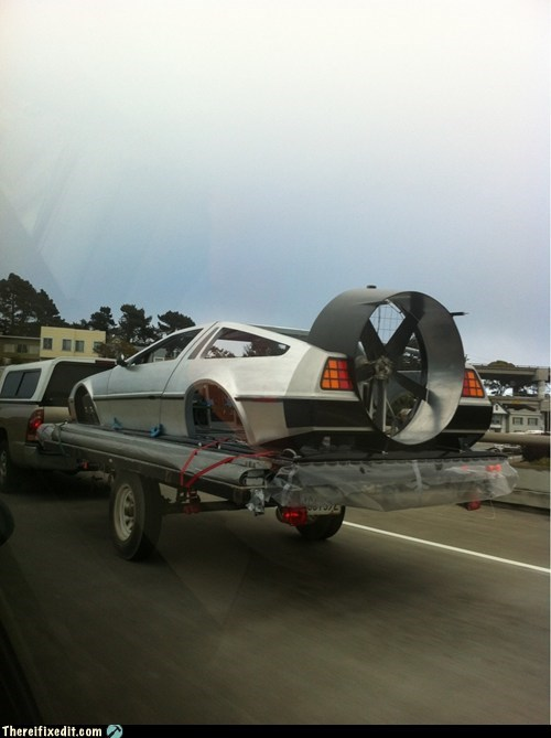 That's one way to get back to the future