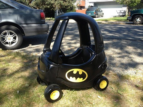 Did Your Dad Make You a Batmobile?