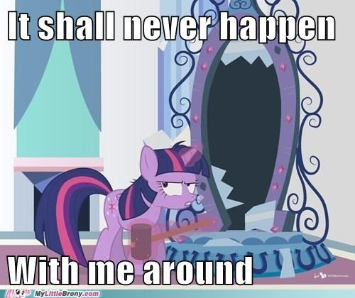 Twilight seems pissed