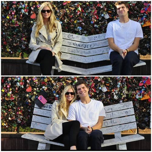 The Dating Bench is a Must-Have for Romantic Parks