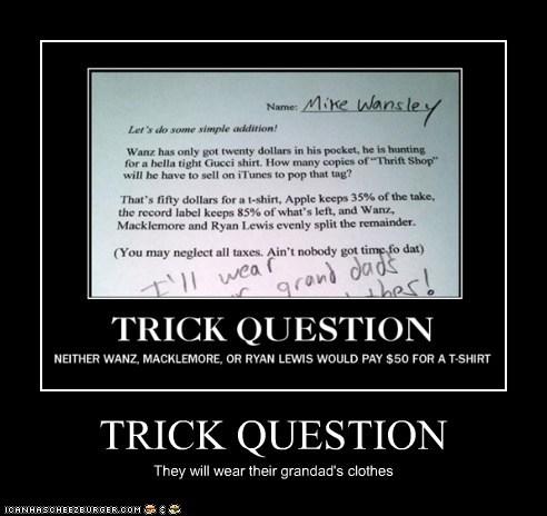 TRICK QUESTION