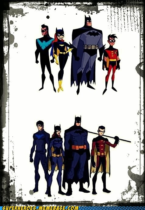 Styles of Bat-imation