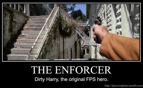 Dirty Harry, the Original FPS Hero