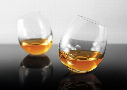 Great, a Glass Made to Spill Scotch