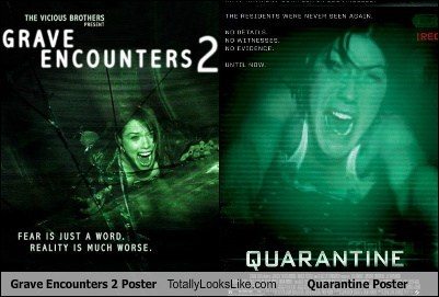 Grave Encounters 2 Poster Totally Looks Like Quarantine Poster