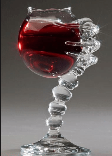 A Wine Glass That Will Hug Your Face