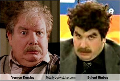 Vernon Dursley Totally Looks Like Bulent Binbas