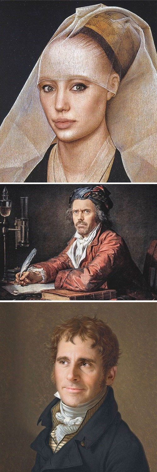 This Looks Shopped of the Day: Modern Renaissance Portraits