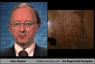 John Clayton Totally Looks Like 3rd Stage Guild Navigator