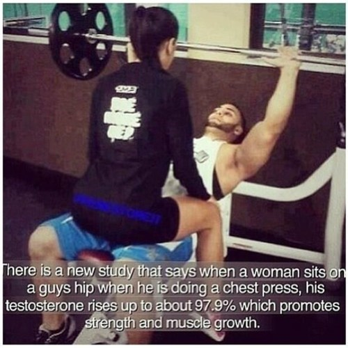 Might be Time to Take Your Lady-Friend to the Gym!
