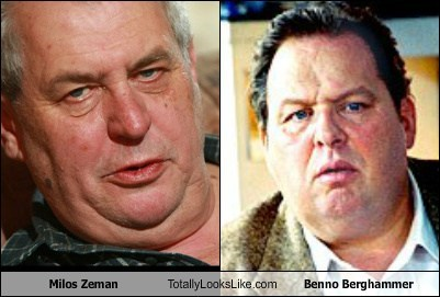 Milos Zeman Totally Looks Like Benno Berghammer