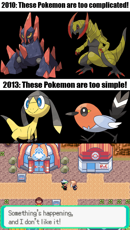 Pokémon,whiners,Game Freak,funny