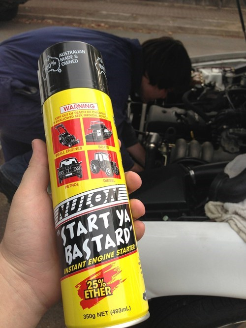 The Spray Every Tinkerer Needs