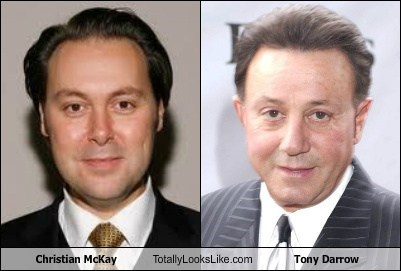 Christian McKay Totally Looks Like Tony Darrow