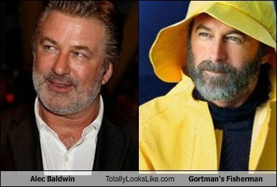 Alec Baldwin Totally Looks Like Gortman's Fisherman