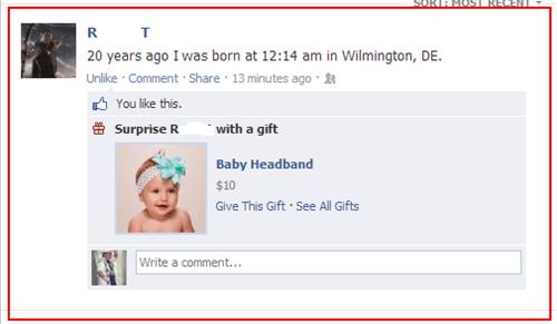 facebook stahp,stahp,birthday gifts,headbands