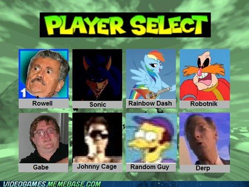 Swag Kart 64 Character Selection