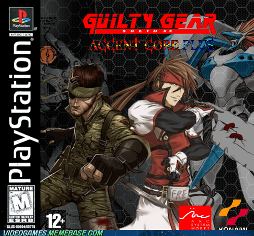 Guilty Gear/ Metal Gear Crossover