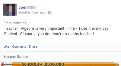 clever,teacher,facebook,morning,funny
