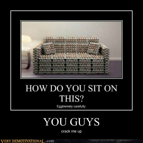 eggs,couch,puns,funny