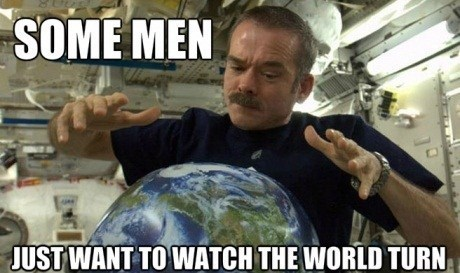 Chris Hadfield, Is the Coolest Astronaut Ever