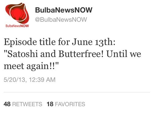 Butterfree is Coming Back!