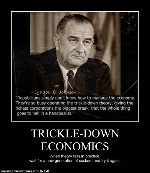 TRICKLE-DOWN ECONOMICS