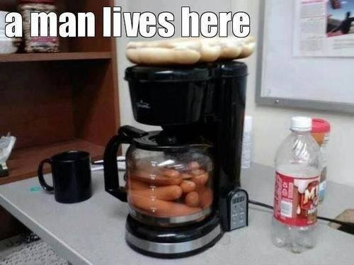 hot dogs,bachelor pad,funny,g rated,there I fixed it