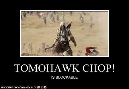TOMOHAWK CHOP!