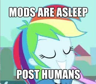 Mods are asleep!