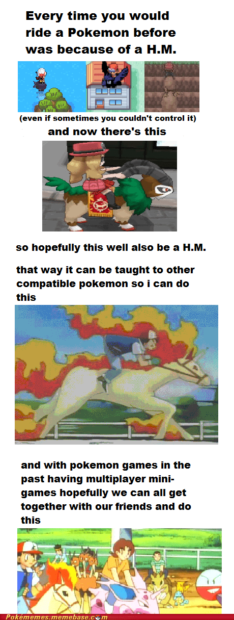 Ride ALL the Pokémon