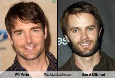 Will Forte Totally Looks Like Garret Dillahunt