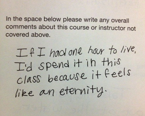 The Best Way to Fill Out a Teacher's Evaluation