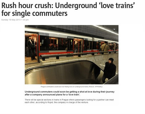 May Your Commute be Lonely no Longer!
