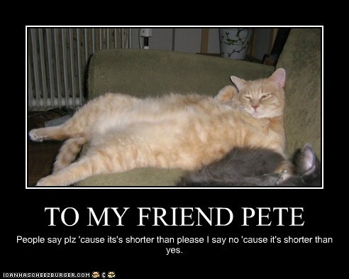 TO MY FRIEND PETE